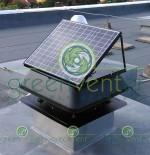 GreenVenter Napelemes Ventilátor beépítve