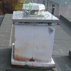 DHA tetőventilátor új acél talpazaton