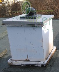 WTL 3 tetőventilátor acél talpazaton