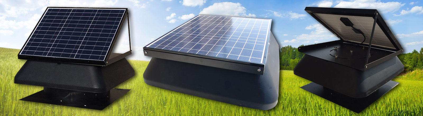 Greenventer napelemes tetőventilátor