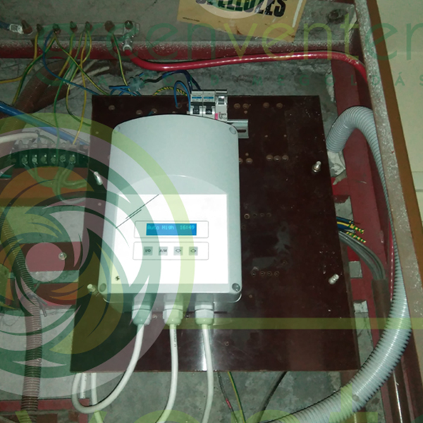 Tetőventilátor a lakói igényekhez igazodva – programozott vezérlés