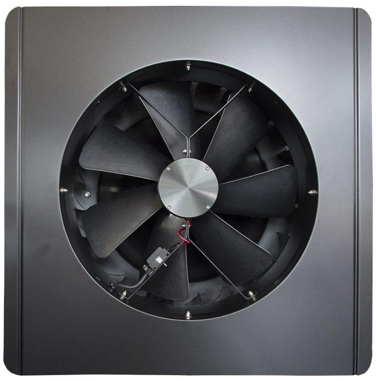 Napelemes szellőzés ventillátorral